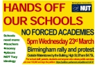 1603 20 Hands Off Our Schools 23rd March